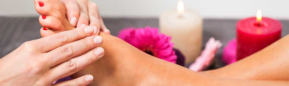 Reflexology treatments in cocoa fl