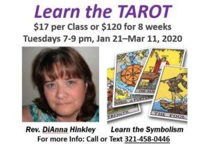 Learn the Tarot with Dianna