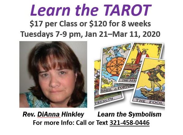 Learn the Tarot with Dianna