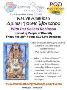 Animal Totem Workshop