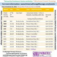 Pro Training Schedule